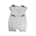 High Quality Jumpsuit Infant Clothing Plain Baby Romper for Newborn Kids