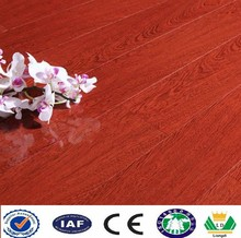 quick step high quality laminate parquet flooring hot sale with wax sealing
