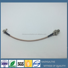 F female to Crc9 male RG316Jumper cable