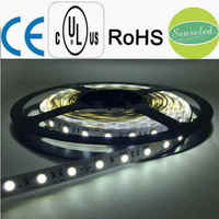 UL Listed Nonwaterproof 24V 4.32W 18LED 360LM Per Foot 16.4FT Roll 80RA CRI White 6000K 5050 SMD Led Light Strip Light