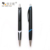 Personalized Promotional Black Plastic Click Retractable Ball Point Pen