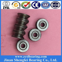 non-standard double flange ball bearing 625zz /4.9*17.5*10.5mm for sewing machine with synchronous belt wheel