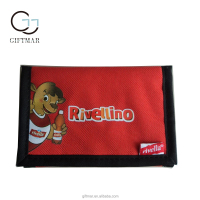 original handmade polyester sewing secrid nylon wallet 3 folding with card holders for kids