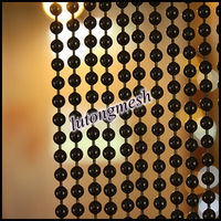 Hanging door beads curtain,metal ball chain curtain for home decor