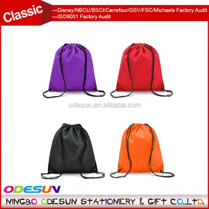 Michaels Sedex FSC Big Lots Walmart ISO 9001 Factory Audit Manufacturer Heat Transfer Canvas Drawstring Bag With Logo