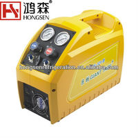 220V car a/c refrigerant recovery recycling machine AC Refrigerant Recovery and Charging Auto Refrigerant recovery machine