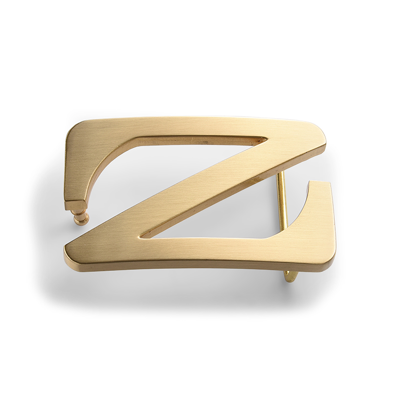 Private gold-plated custom letter symbol metal brand brand belt <strong>buckle</strong>
