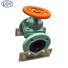 Chinese Suppliers WCB Handwheel Manual Flanged Ceramic Lined Floating Ball Valve