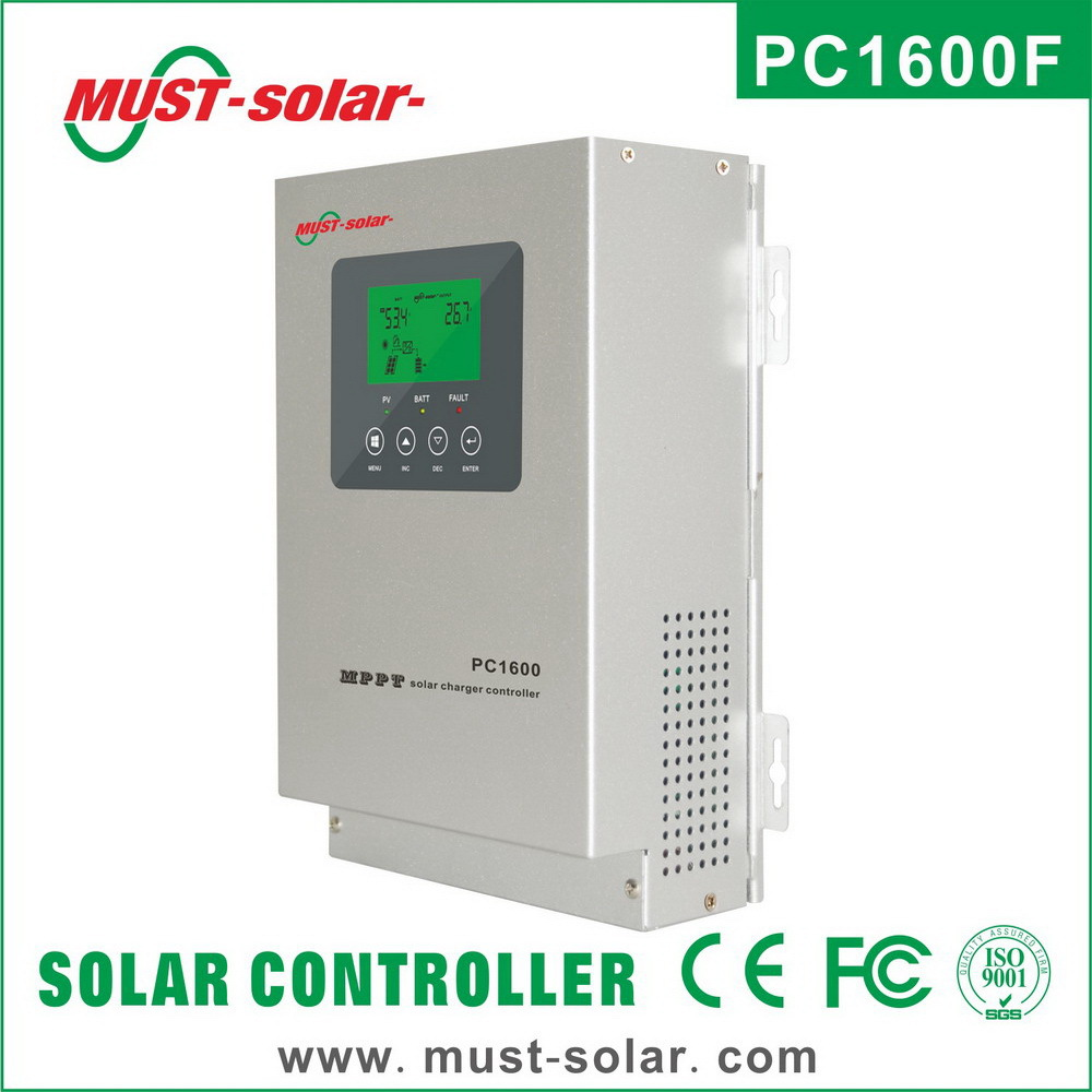 Hot selling Alibaba trade assurance MUST high effiency 12V 24V 36V 48V 45/60a mppt solar charge loaded controller