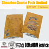 Buttom gusset stand up ziplock pouch for packaing walnunts with clear window