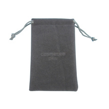 Factory Sale High Quality Fashion Gray Bag Velvet Jewelry Bag Package Cosmetic Pouch
