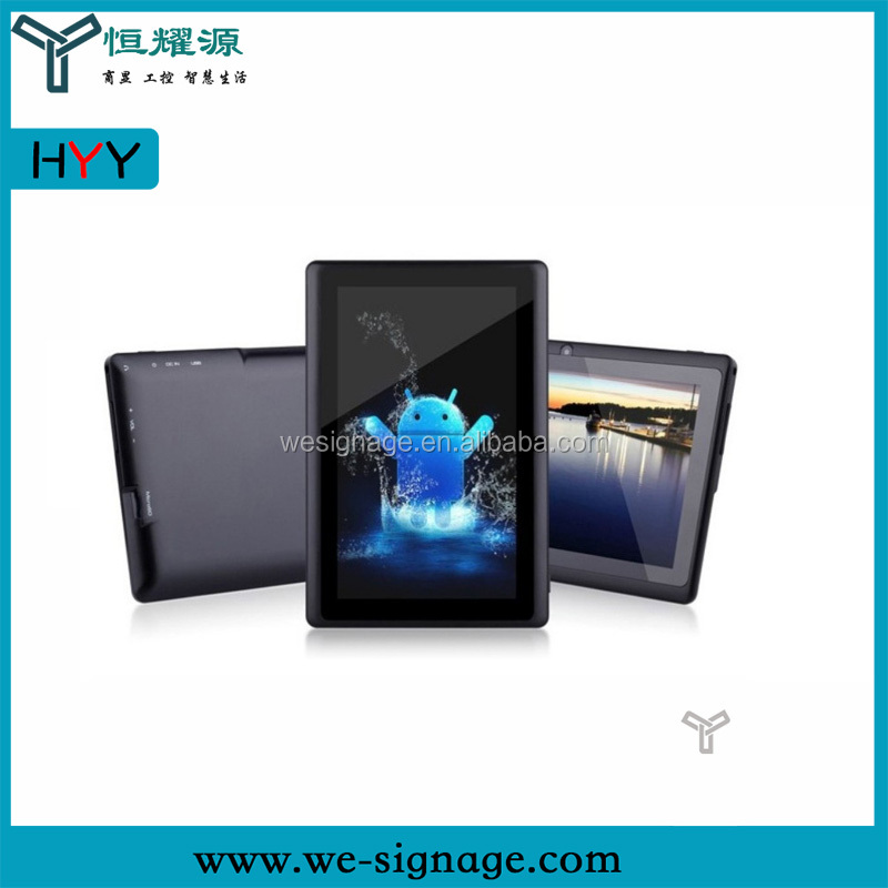 cheapest price 7 inch capacitive touch screen tablet pc with wifi