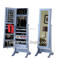 Popular colorful natural Furniture Decoration Jewelry Cabinet