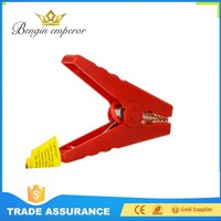 Factory Price reverse connection protection copper alligator clamp