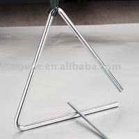Metal Musical Instrument Triangle Percussion