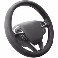 38cm 15inch Universal Microfiber Leather Vehicle SUV Truck Auto Car Steering Wheel Cover