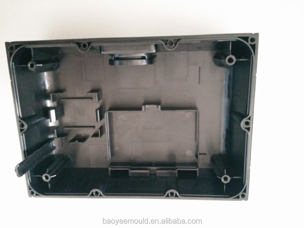 plastic product small plastic part circuit box plastic part for injection mould household mould