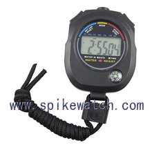 Beautiful single line sport timer pocket stopwatch for student