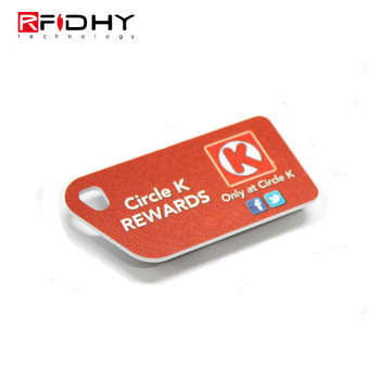 RT01 RFID 13.56Mhz Mifare Mini Card Wrist Tag for Wristband or Keyfob