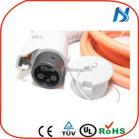 SAE J1772 Electric car charging Plug charge control device for car and charging station