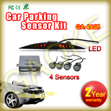 4 Sensors Kit Car Parking Sensors Ultrasonic Sensor Car Parking Radar Detector