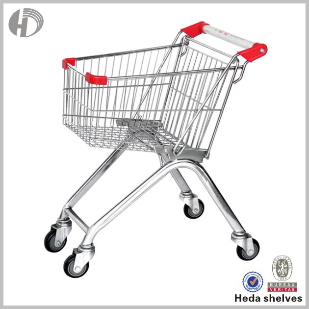 folding shopping cart with seat