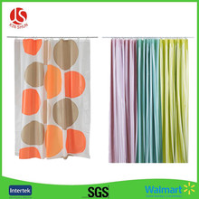 PEVA Material and Eco-Friendly Feature Cheap Shower Curtain