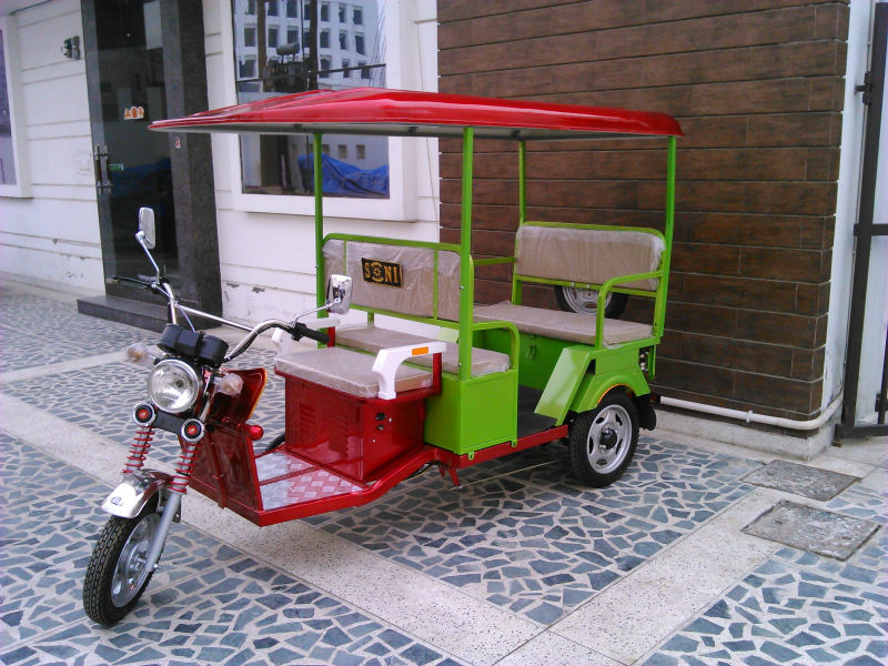 Electric Battery Operated Rickshaw