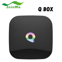 2G 16G XBMC Q Box Android 5.1 S905 Quad-core 64bits TV Internet Box WiFi Gigabit LAN Bluetooth H.265 4K Hd LIVE TV
