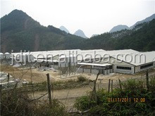 steel structure poultry house design prefab chicken house/shed