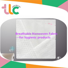 ES Fiber Breathable Soft Nonwoven Fabric Hight Quality Hygienic Raw Material