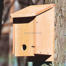 Pet Enclosure miniature wood crafts houses for bird