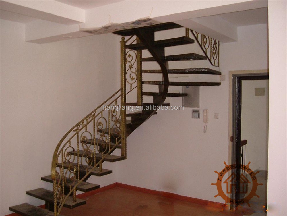 2017 top selling outdoor wrought iron stair railing HL-I-H-107
