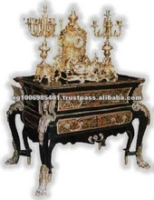 black wooden antique commode