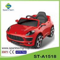 ST-A1518 Battery Powered Ride On Toys For Kids, Double Doors Ride On Battery Operated Vehicles, Ride On Cars For 6 Year Olds