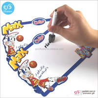 Magnetic marker board promotion 100% eco-friendly kids erasable drawing board