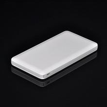 New idea goods mobile charger power bank 5000mah White leather case with good touch feeling