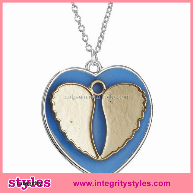 New Design Hot Fancy Fashion Glowing Heart Necklace