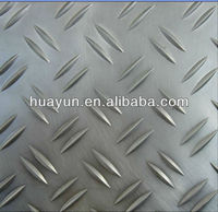small 2 bar aluminum tread plate for anti slip