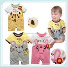 summer baby clothes baby Romper newborn short sleeved overall baby girl / boy animal creepers kids shorts jumpsuits