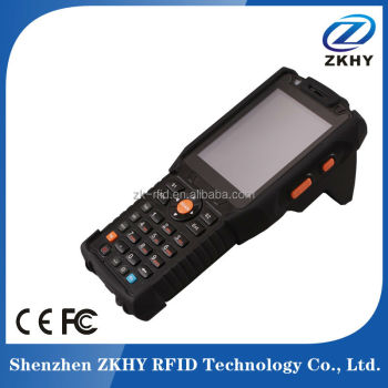 Cheap handheld rfid reader for asset tracking with WIFI GPRS Bluetooth, barcode scanner