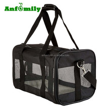 Black Soft-Sided Pet Carrier Carry Bag