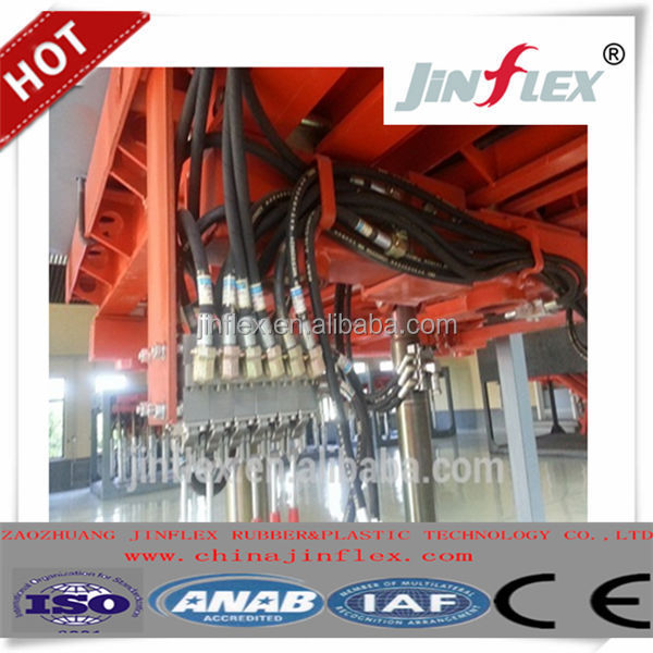 DIN EN853 2SN/SAE 100R2AT Wire Braided Rubber/Hydraulic Hose for Crane