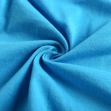 Alibaba china market supplier 100 cotton jersey knit fabric for garment