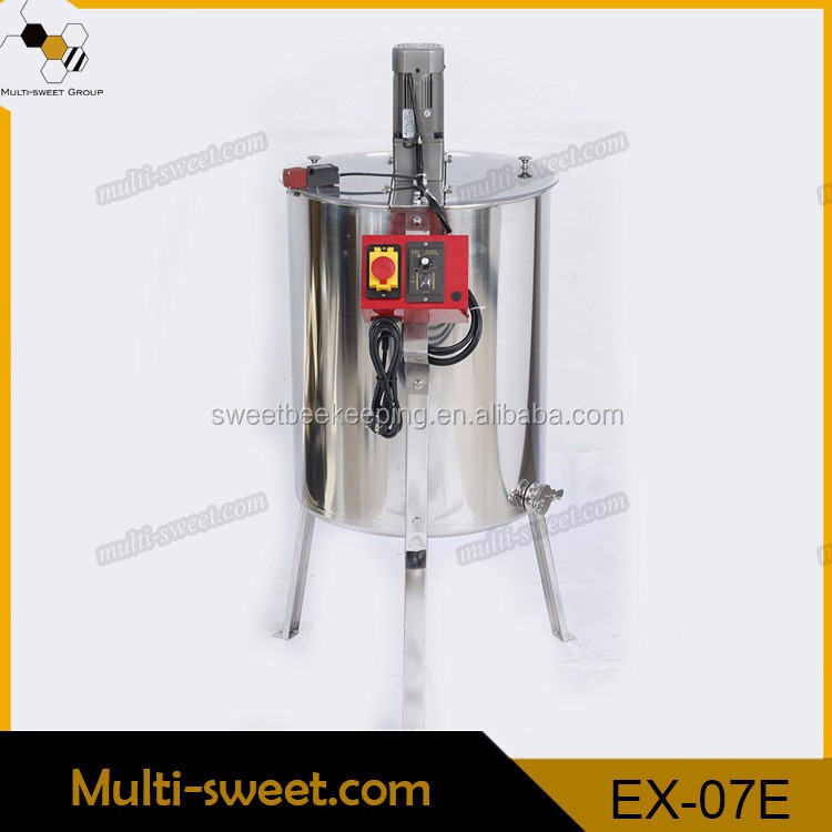 Hot Sale Automatic Stainless Steel 3 /4 / 6/ /8 /12 Frames Electric Honey Bee Extractor