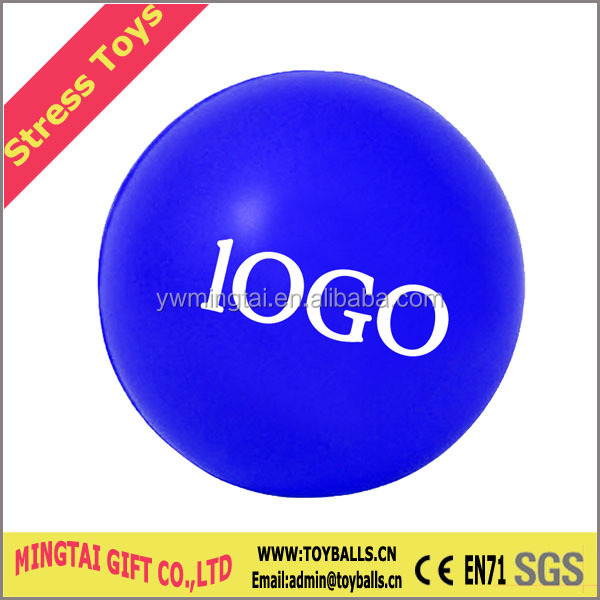 Black Color Round Stress Ball