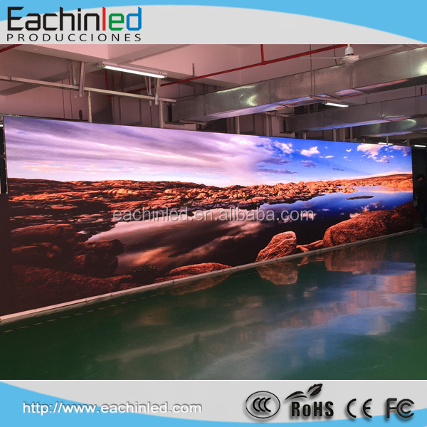 Hd Full Color Smd Tv Show Background Video Wall P3.75 RGB Led Screen