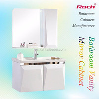 ROCH 8010 Solid Wood Space Saver Cabinet High Light Bathroom Vanity