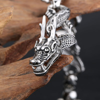 stainless steel jewelry vietnam jewelry dragon bracelet