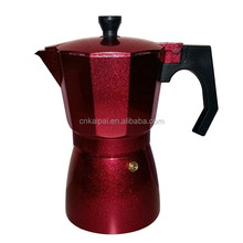 kitchen appliance hot selling high capacity professional 3Cup Cooks Professional Italian-Style Aluminum Coffee
